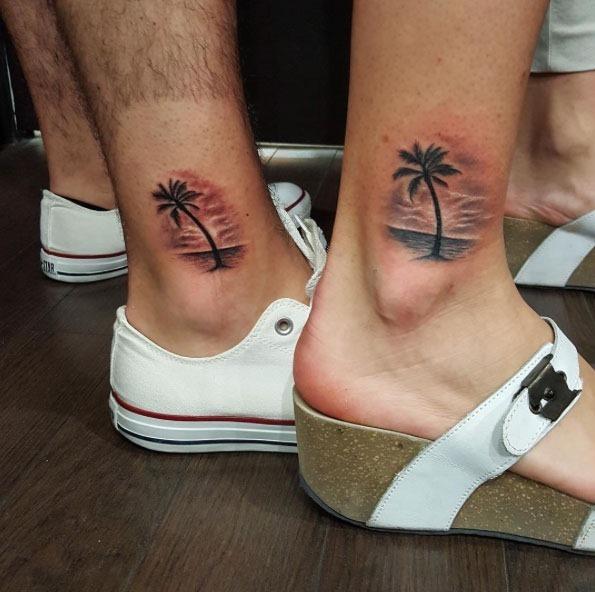 Estes correspondência tornozelo tats