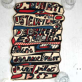 Jean Dubuffet 1967 Lithograph
