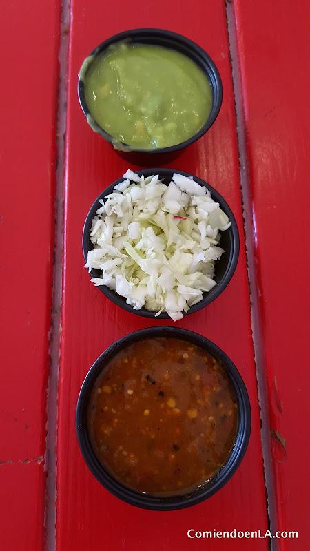 Mexican salsas