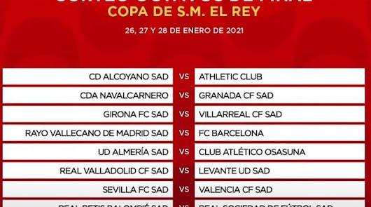 Almería-Osasuna en octavos de la Copa