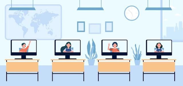 Online Education In India - The New Normal Photo Credit: <a href='https://www.freepik.com/vectors/school'>School vector created by pch.vector - www.freepik.com</a>