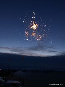 More fireworks