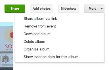 Google+ Album herunterladen