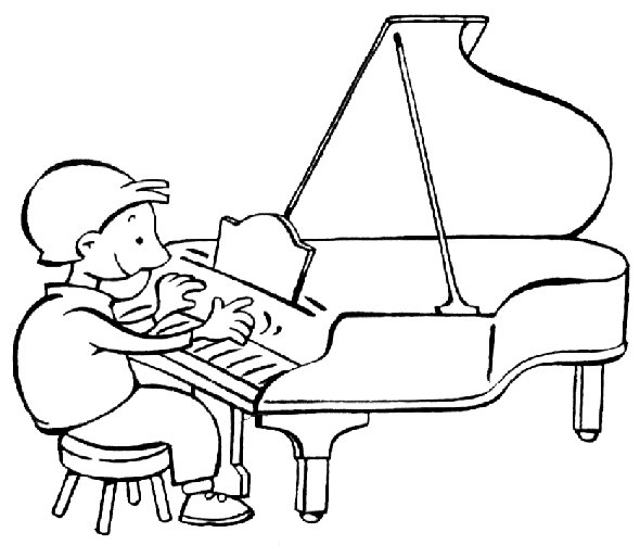 Colorear Instrumentos Musicales