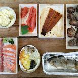 epic seafood at Addiction fish market in Taipei in Taipei, T'ai-pei county, Taiwan
