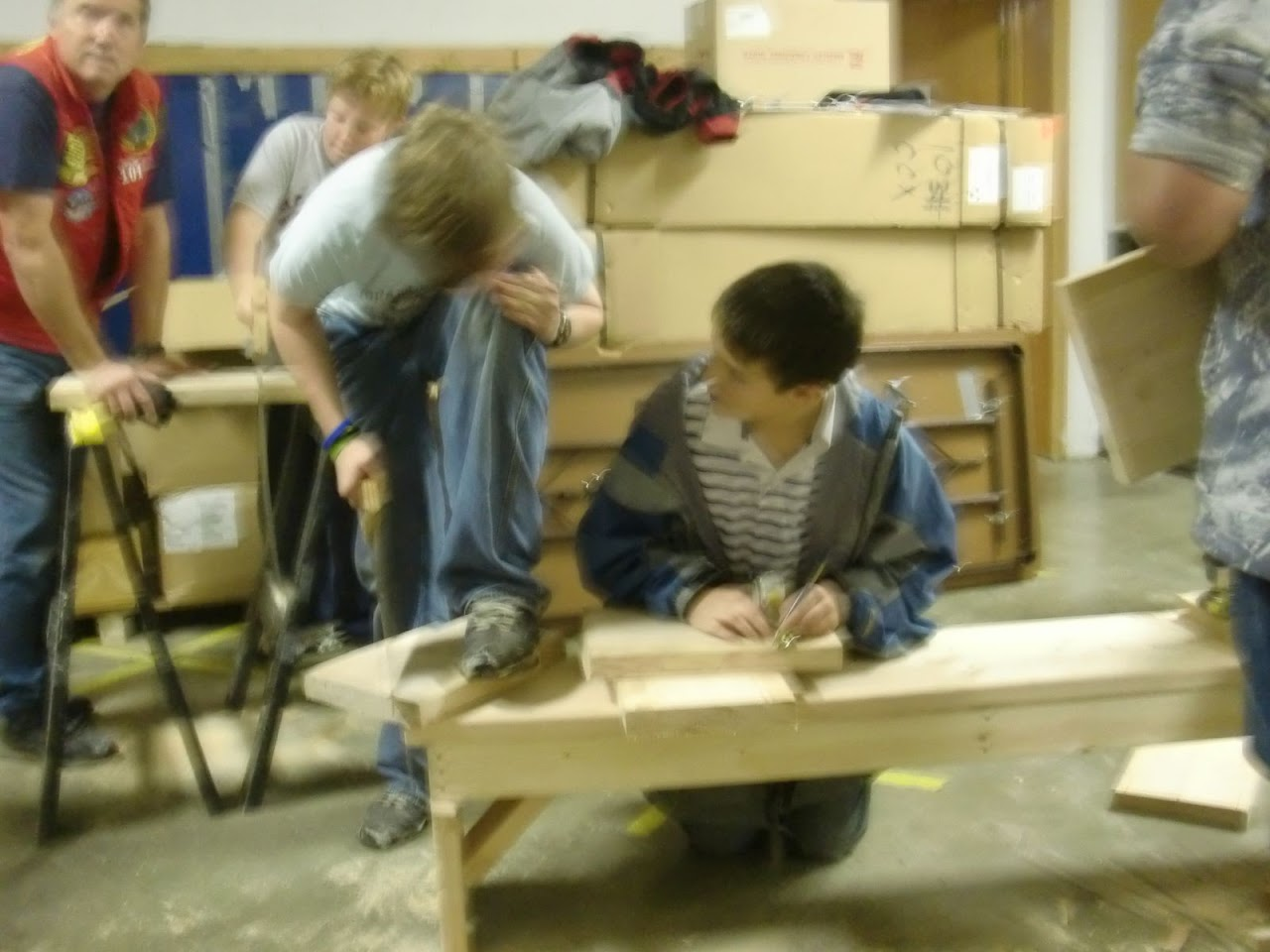 Carpentry Merit Badge Sessions - CIMG1149.JPG