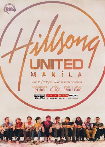 Hillsong United Live Tour Manila 2014