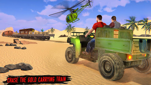 Train Gold Robbery 2019 – New Train shooting games screenshot 8