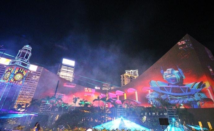 26 香港 閃躍維港 3D光雕匯演