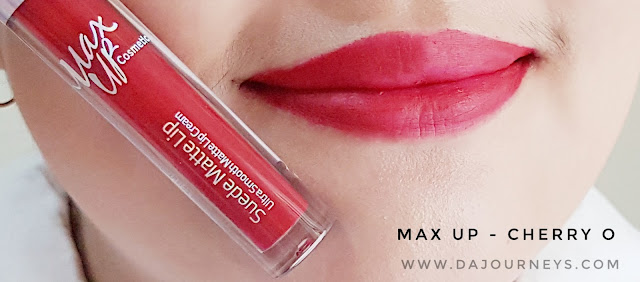 Review Cherry O by Max Up Cosmetics