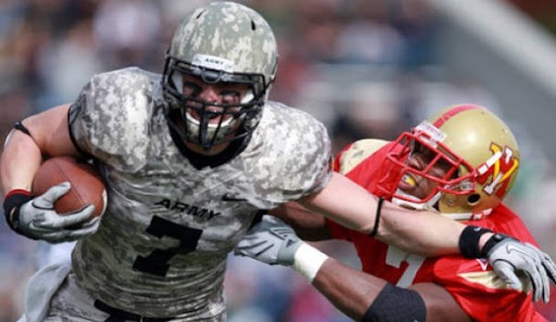 Camouflage Football Uniforms: Support Our Troops!