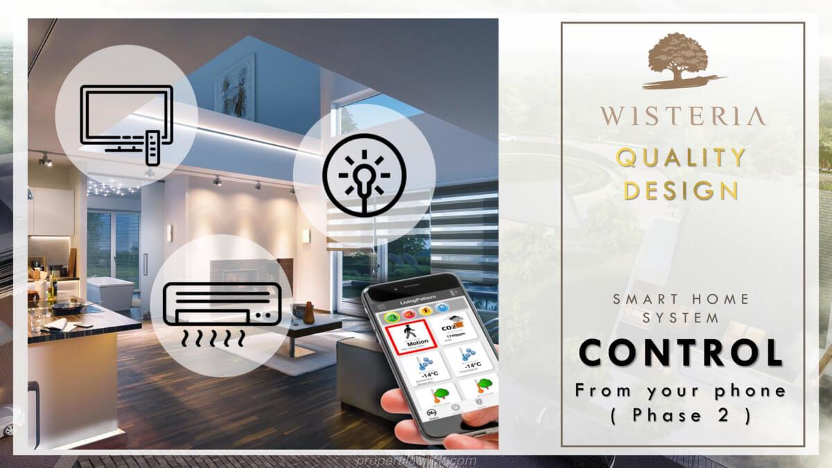 Rumah Wisteria Metland Menteng - Smart Home Control