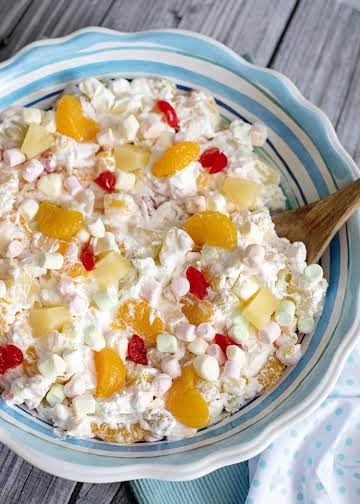 Five Cup Fruit Salad - Southern Plate