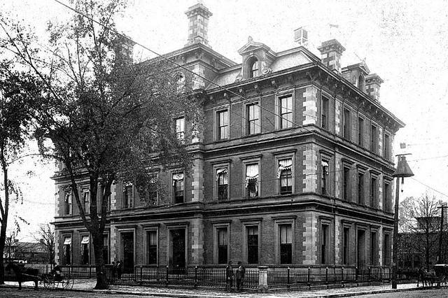 Parkersburg, WV post office, ca. 1878