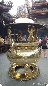 The big Golden pot