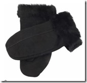 Mens Sheepskin Mittens by Dents