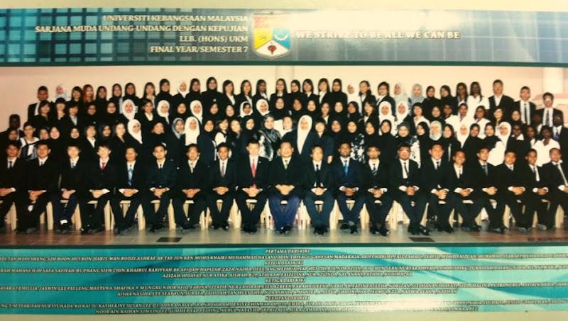 Final Year Batch 24 FUU UKM
