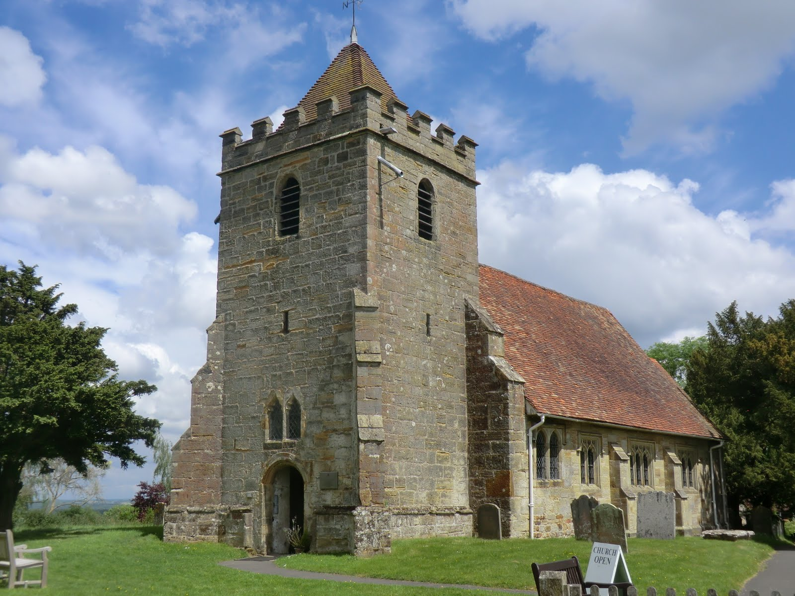 CIMG1601 St Thomas � Becket church, Capel