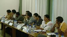 Participantes de Perú, Colombia y Ecuador