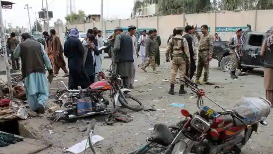 deadly roadside bomb explosion in Helmand province, southern Afghanistan