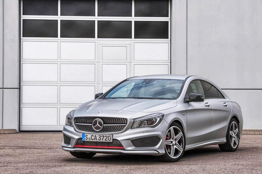 Mercedes Benz CLA Sport 1