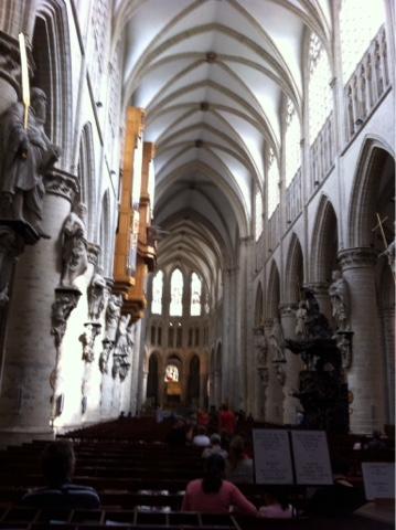 Bruxelles cathédrale