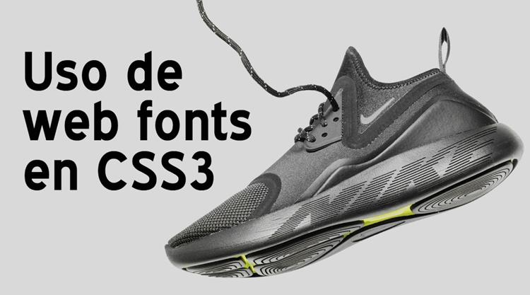 Cómo insertar fuentes web en CSS3