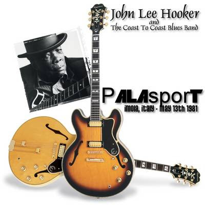 John Lee Hooker - Palasport, Imola, 13 May 1981 -SBD- (CD & Covers