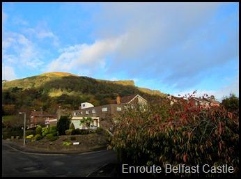 Enroute Belfast Castle