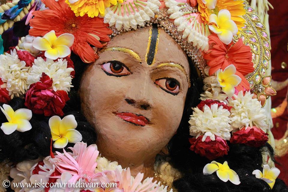 ISKCON Vrindavan Shringar Deity Darshan 29 May  2016 (20)