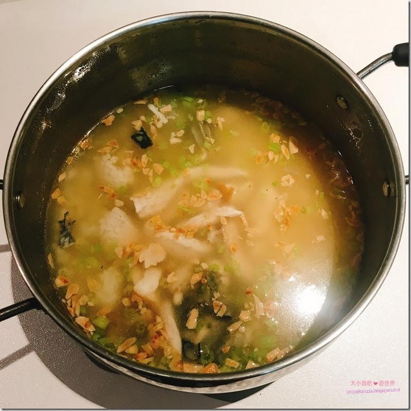 誠實鹹粥-新北淡水-臺南飯湯每餐新鮮限量50份的誠實好味道