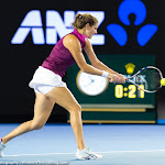 Julia Görges in action at the 2016 Australian Open