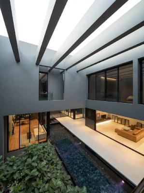 Mẫu thiết kế kiến trúc biệt thự hiện đại, giải pháp xanh