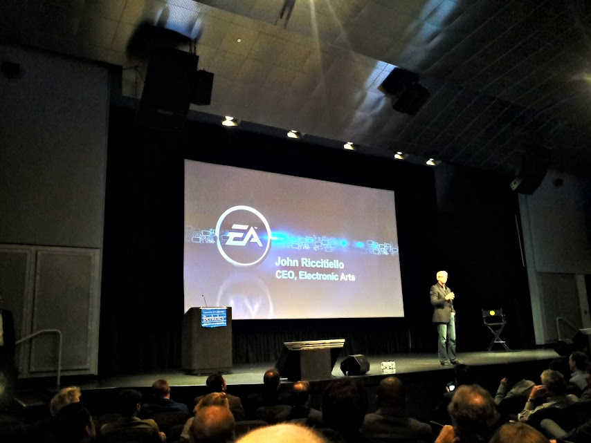 EA CEO at Haas Berkeley Alum Event
