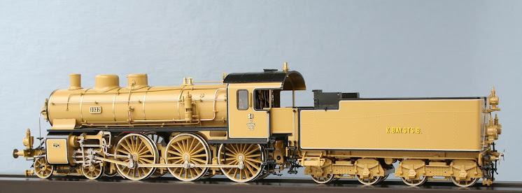 Modeli parnih lokomotiva DRG 02501H-La