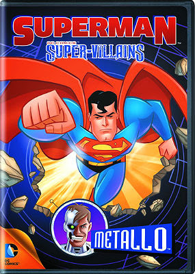 Filme Poster Superman SuperVilões: Metallo DVDRip XviD Dual Audio & RMVB Dublado
