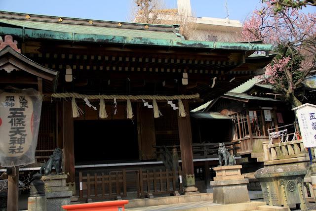 日本 東京 上野公園 東照宮 上野大佛 合格大佛 弁天堂 花園稻荷神社