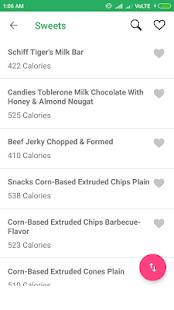 My Food Calorie - náhled