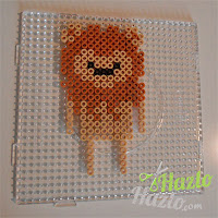 El León de El Mago de Oz de hama beads