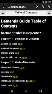 Dementia Guide Expert- screenshot thumbnail