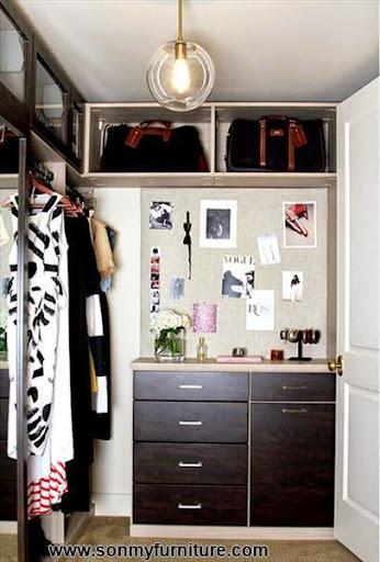 Mách bạn cách biến chỗ bừa bộn thành tủ quần áo gọn gàng-8
