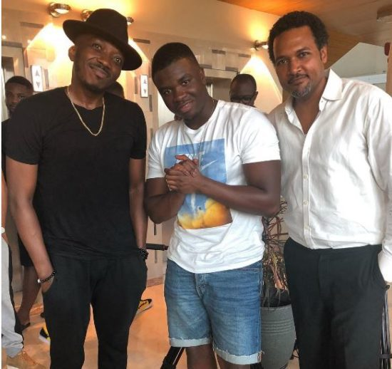 'Mans Not Hot' Big Shaq Pictured With Bovi And Cecil Hammond