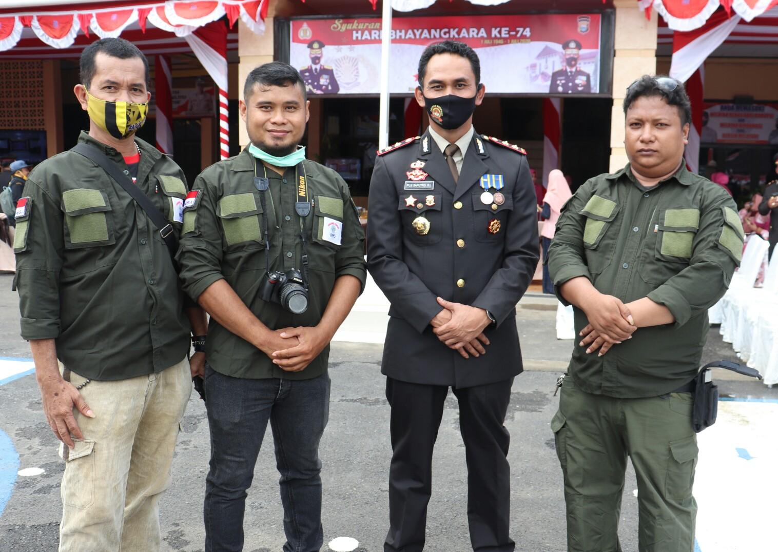 Kapolres Soppeng Bergeser, IWO Soppeng : Sukses di Tempat Yang Baru Komandan
