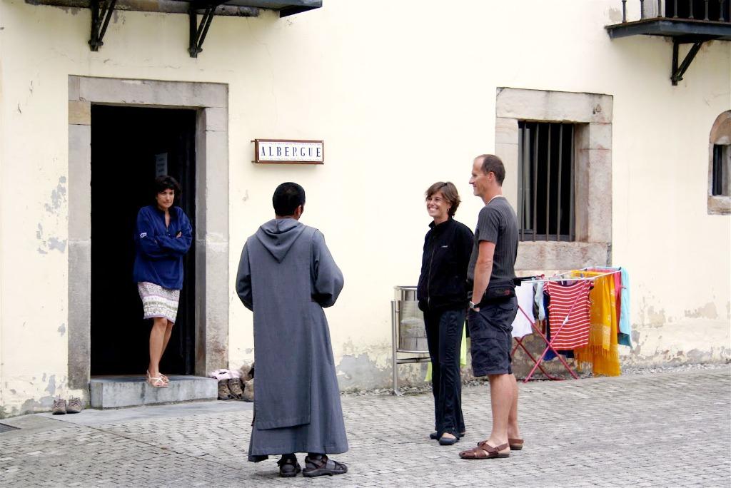 Albergue de peregrinos del Monasterio de Valdediós, Asturias
