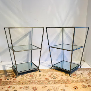 Tiered Accent Table Pair
