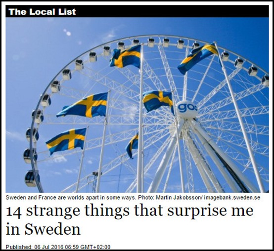 strange swedes