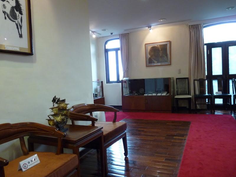 TAIWAN.Taipei Maison de l écrivain Lin Yutang,et divers - P1100487.JPG