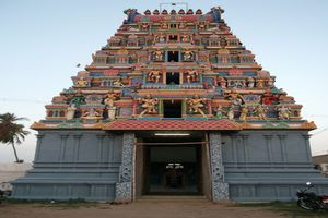 Thiruppariyalur (Parasallur) Temple Main Gopuram
