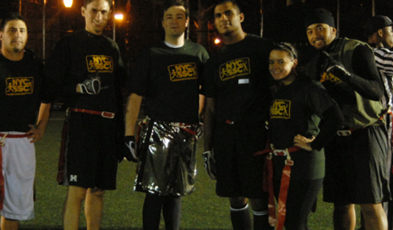 Disco Sport Shorts Flag Football Team