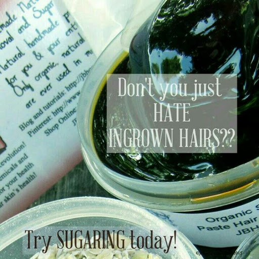 Don't you just HATE ingrown hairs? Try Sugaring